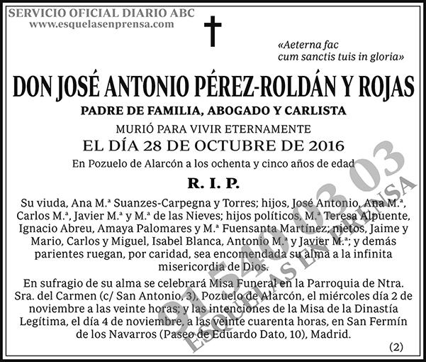 José Antonio Pérez-Roldán y Rojas